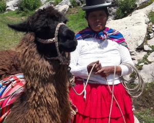 Local artisans and friend, Isla Del Sol (Sun Island), Lake Titicaca.