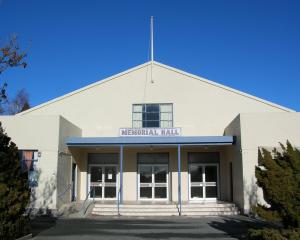 The Cromwell Memorial Hall. PHOTO: ODT FILES