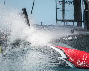 High winds have seen the first day of America's Cup racing cancelled in Bermuda. Photo: Getty Images