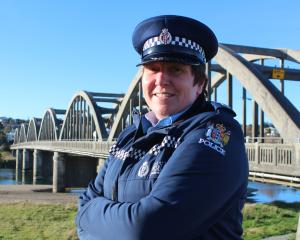 Senior Sergeant Cynthia Fairley is the new Clutha-Taieri area response manager in Balclutha....