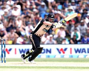 Colin Munro bats for the Black Caps earlier this year. Photo: Getty Images