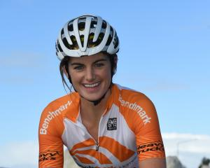 Former Otago cyclist Elyse Fraser: ''I'm coming into the squad new and that means I have lots to...