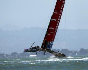 Emirates Team New Zealand. Photo by Reuters
