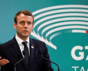 Emmanuel Macron says he will be blunt with Putin during their meeting. Photo: Getty