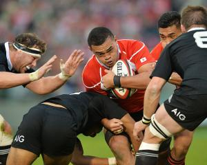 The All Blacks and Japan last met in a test in Tokyo in 2013. Photo Getty