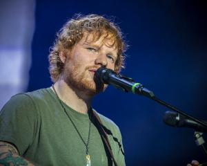 Ed Sheeran. Photo Getty