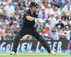 Jimmy Neesham turned in a man-of-the-match performance against Bangladesh. Photo Getty