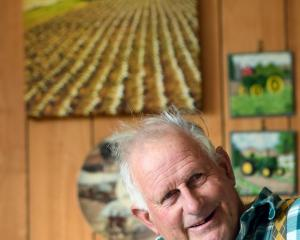 John Thornton will be acknowledged tonight for his family's century of farming on the same land....