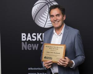 Judge John Macdonald  was inducted into Basketball New Zealand's Hall of Fame for his services as...