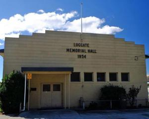 Luggate Memorial Hall, located at 51 Main Road, SH6 Luggate. Photo: QLDC.