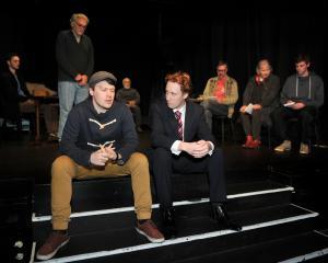Never the Sinner (from left), Thomas Makinson, Joe Cecchi, Damon Lillis, Nigel Ensor, Dylan...