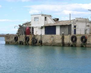 Sanford will take down its Normanby wharf shed at Oamaru Harbour and replace it with shipping...