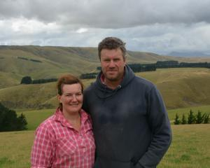 Sheep and beef farmers Simon and Kirstin Engelbrecht are hosting a field day. Photo: BFEA