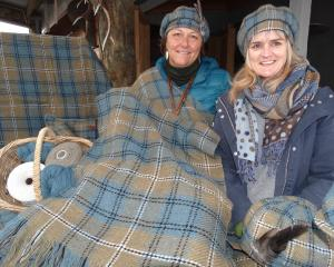 The Southern Lakes tartan was unveiled at the Great Glenorchy Getaway Day by the creator's...