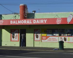 The Balmoral Dairy in Hillside Rd, Dunedin. Photo: Gerard O'Brien.