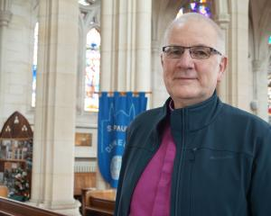 The Rt Rev Dr Kelvin Wright stepped down as bishop  of Dunedin at Easter. Photo: Star.