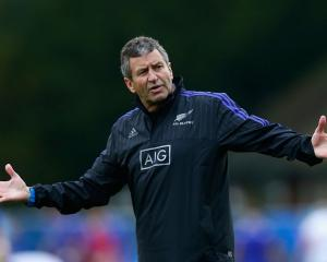 Former All Black coach and assistant coach Wayne Smith. Photo: Getty Images