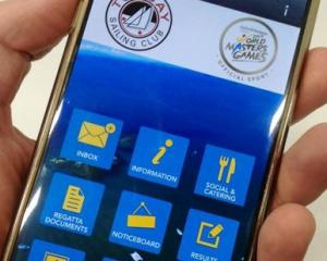 An app which allows sailors, coaches and spectators alike to easily see results and jury...