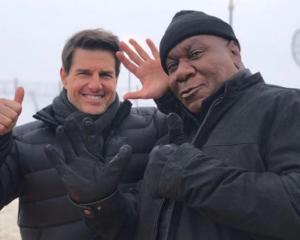 Tom Cruise and Ving Rhames. Photo / via Instagram