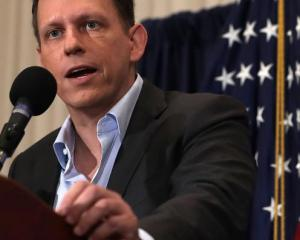 Peter Thiel. Photo Getty