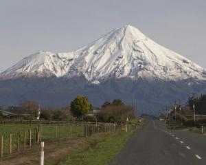 Mt Taranaki. Photo NZ Herald