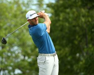 Dustin Johnson was one of the big names to miss the cut in the US Open. Photo: Rob Schumacher-USA...