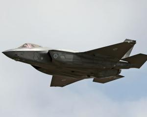 A Joint Strike Fighter (JSF) F-35. Photo: Getty