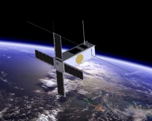 A cube satellite similar to the ones that will be designed and built by the Alexandra-based...