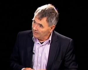 Dave Cull interview with Loughrey. Screengrab