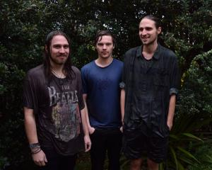 Dunedin's resident surf-rock sweethearts Koizilla (from left) Zac Nicholls, Connor Blackie, Josh...