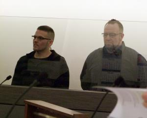 Sean Roche (left) and Jeremy Clark were each imprisoned for more than three years for a drunken...