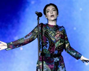 Lorde performs during the 2017 Bonnaroo Arts and Music Festival in Manchester, Tennessee at the...