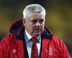 Warren Gatland. Photo Getty