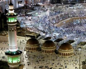 The Grand Mosque in the Saudi Arabian holy Muslim city of Mecca. Photo: Reuters
