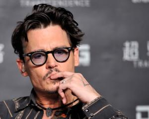 Johnny Depp. Photo Reuters