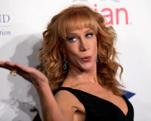 Comedienne and actress Kathy Griffin is in hot water after she posed in photos with the severed head of US President Donald Trump. Photo: Reuters