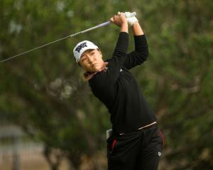 Lydia Ko in action at the Volunteers of North Texas Shootout. Photo: Getty Images