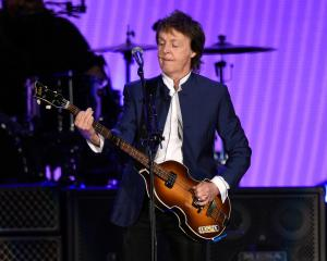 It costs $2,000 to watch Paul McCartney soundcheck. Photo: Reuters