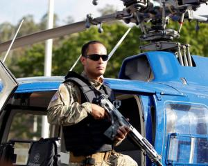 "Oscar Perez produced and starred in a 2015 Venezuelan action movie called ""Suspended Death"" about..."