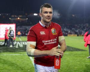 Peter O'Mahony after the Lions' game against the New Zealand Maori at the weekend. Photo: Getty...