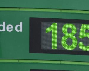 BP prices in Dunedin have dropped 13c in the past fortnight. Photo: Gerard O'Brien.