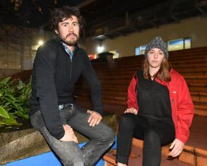 Phedders United members Louis Brown and Mary Beban fear proposed cuts to the School of Physical...