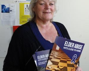 Age Concern Otago social worker Marie Bennett says elder abuse most commonly occurs within families as New Zealand marks Elder Abuse Awareness Day. PHOTO: BRENDA HARWOOD