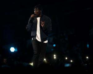 Grime artist Stormzy is one of several celebrities to take part in a charity song for the victims of the London apartment building fire. Photo: Reuters