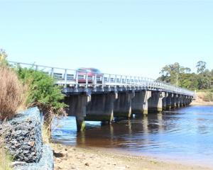 The Papatowai Bridge over the Tahakopa River will be off limits to the public for three months...