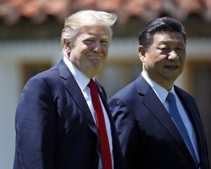 President Donald Trump and Chinese President Xi Jinping. Photo: Alex Brandon