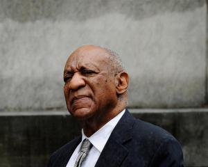 Bill Cosby departs after a judge declared a mistrial in his sexual assault trial at the...