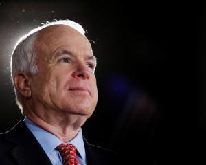 Senator John McCain. Photo: Reuters