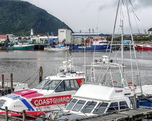 Fishing berths are at a premium at the Greymouth port as the hoki season hits its straps. Photo:...