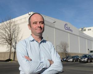 Jim O'Malley stands outside the Cadbury site ahead of a crowdsourcing project to secure...